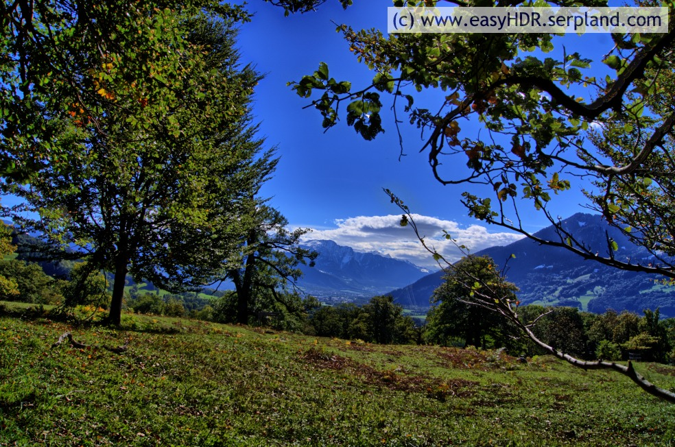 Easy HDR Files | Swiss Alps | HDR with Dramatic-Dark settings