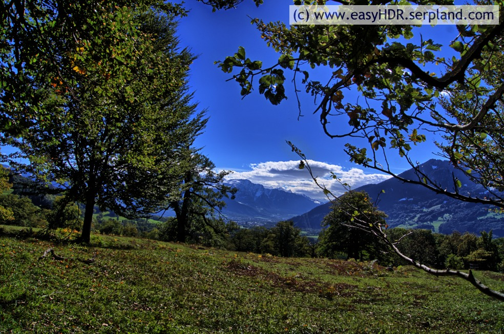 Easy HDR Files | Swiss Alps | HDR with high contrast properties set