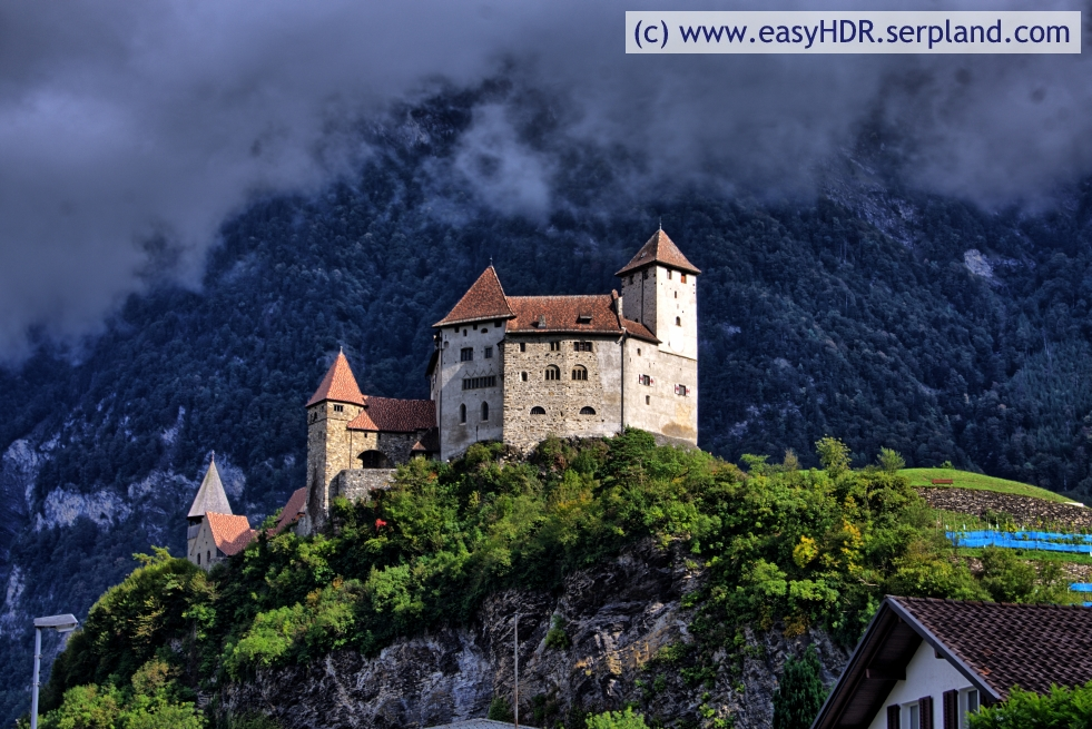Easy HDR Photo | Castle Picture | HDR with High Contrast